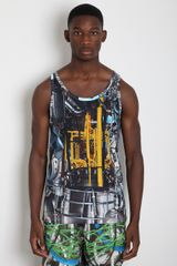 Christopher Kane Mens Turbine Vest - Lyst