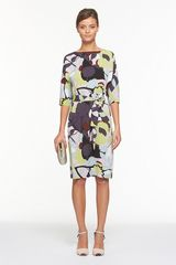 Diane Von Furstenberg Maja Two Dress in Green (paper forest mint) - Lyst