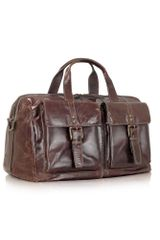Fossil Dayton - Genuine Leather Duffle Bag - Lyst