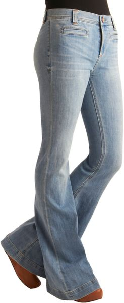 Modcloth Dazed and Amused Jeans in Blue (gold) - Lyst