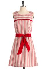ModCloth Strawberry Sunday Dress - Lyst