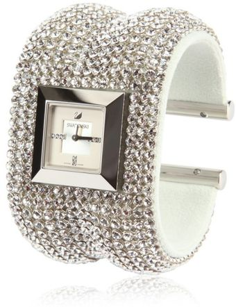 Swarovski Elis Bangle Cry Watch - Lyst