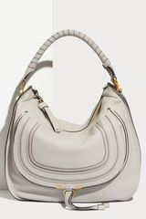 Chloé Marcie - Large Leather Satchel - Lyst