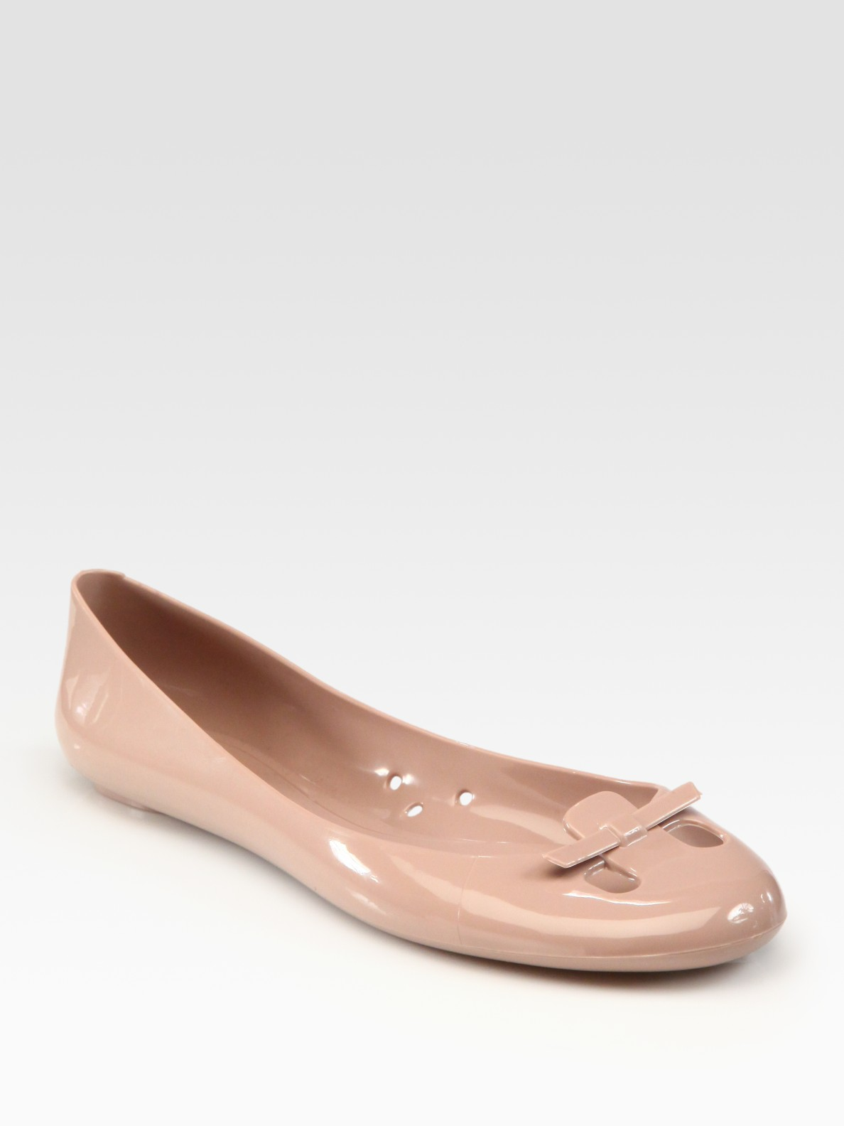 Lyst Marc Jacobs Mouse Jelly Ballet Flats In Pink