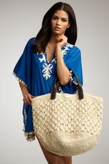 Ondademar Straw Crochet Bag - Lyst