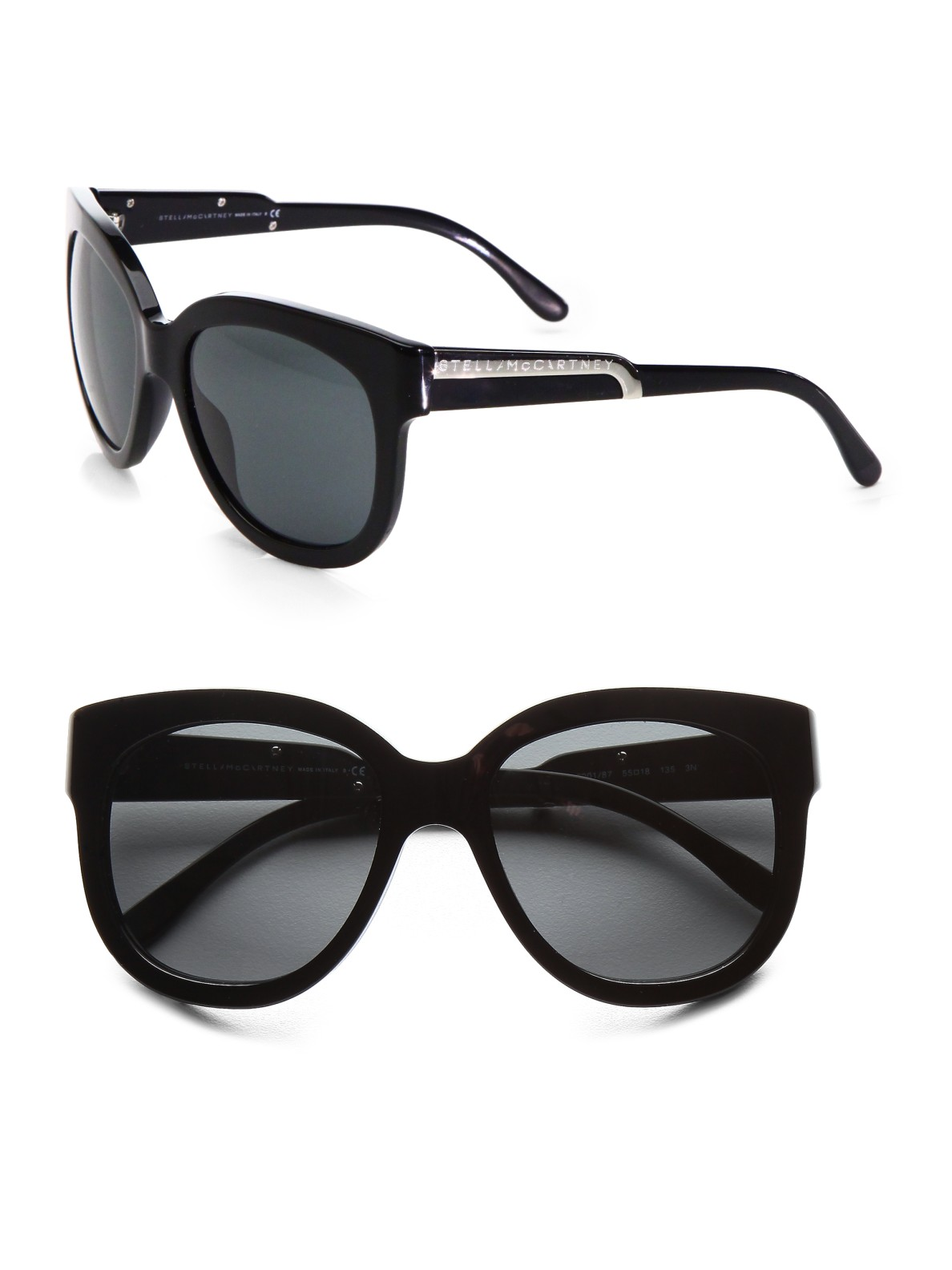 High-Quality Cheap two-tone oversized square sunglasses - Metallic Stella McCartney Wholesale Price Cheap Online Discount Best Seller Discount Cost Outlet Get Authentic Hkp0soQiGN