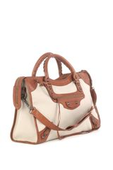 Balenciaga Classic City Bag in Brown (beige) - Lyst