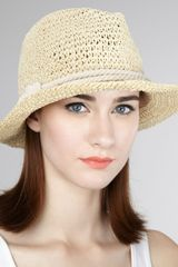 Genie By Eugenia Kim Crocheted Darcy Fedora - Lyst