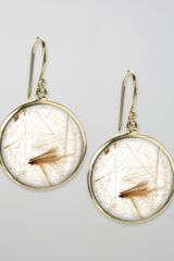 Ippolita Drop Earrings, Rutilated Quartz - Lyst