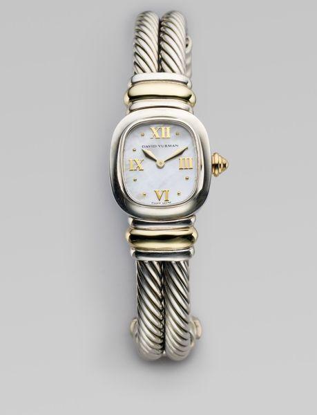 david yurman chelsea bracelet in silver lyst