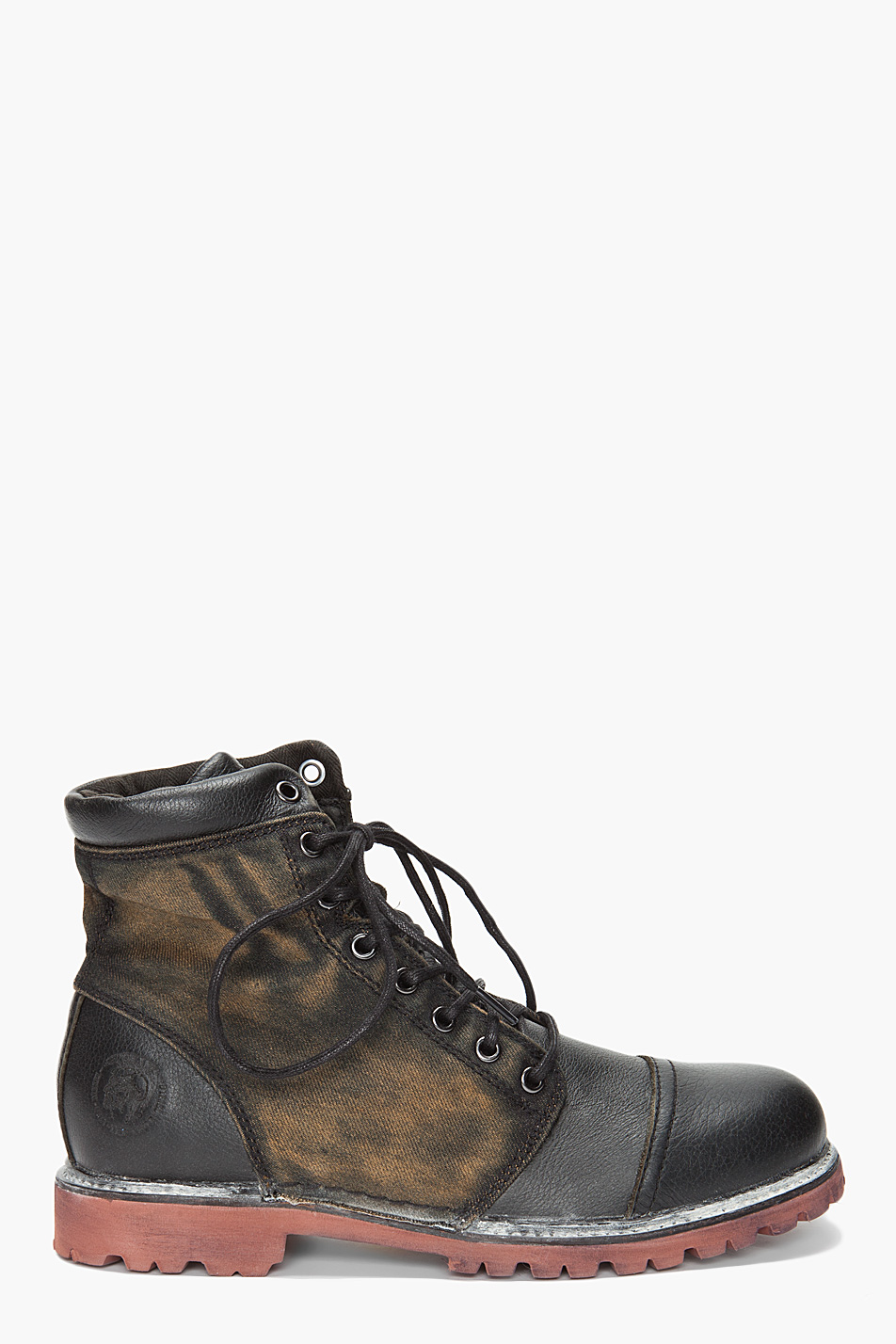 Lyst - Diesel Hill Boots in Black for Men