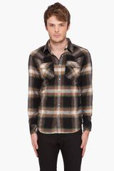 Diesel Swalky-rs Plaid Shirt - Lyst