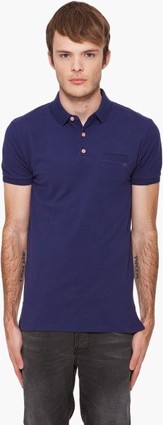 Marc By Marc Jacobs Logo Polo in Blue for Men (midnight) - Lyst