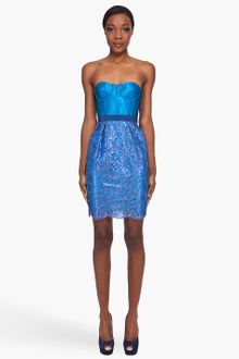 Matthew Williamson Silk Blend Cocktail Dress - Lyst