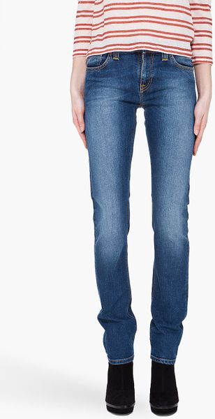 Nudie Jeans Blue Tube Kelly Jeans in Blue - Lyst