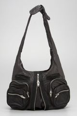 Alexander Wang Donna Washed Leather Hobo - Lyst