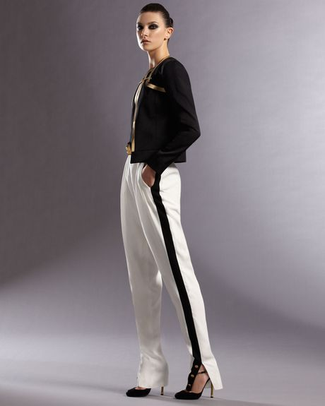 Gucci Sideband Pants in Black (natural) - Lyst