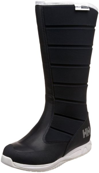 Helly Hansen Mens Helly Welly Boot in Black for Men (navy/white) - Lyst