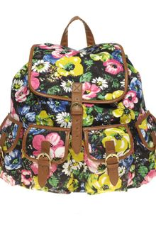 ASOS Collection Floral Print Backpack - Lyst