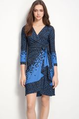 BCBGMAXAZRIA Jersey Wrap Dress - Lyst