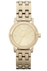 DKNY Small Round Bracelet Watch - Lyst