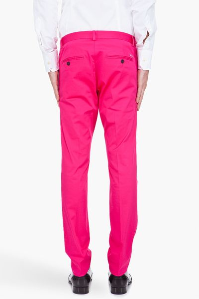 Dsquared 178 Pink Cool Guy Pants In Pink For Men Lyst