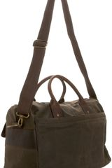 Fossil Wagner Duffel Bag in Brown (olive) - Lyst