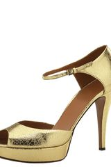 Gucci Betty Open-toe Mary Jane Pump - Lyst