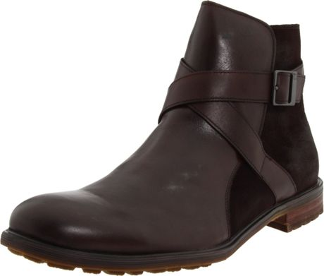 kenneth cole reaction mens apple show boot in brown for