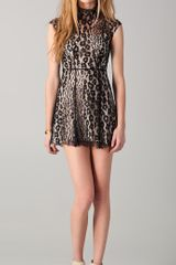 Lover Labyrinth Mini Dress - Lyst