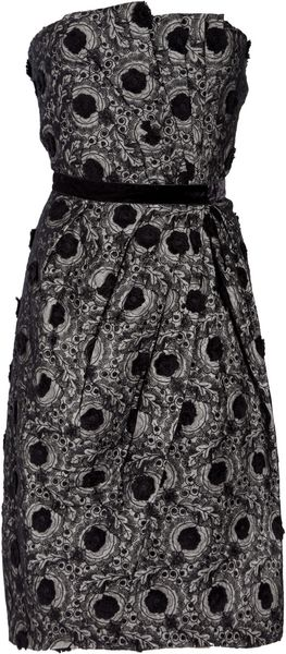 Marc By Marc Jacobs Pom Pom Appliqué Dress - Lyst
