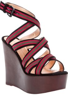Marc By Marc Jacobs Wedge Sandal - Lyst