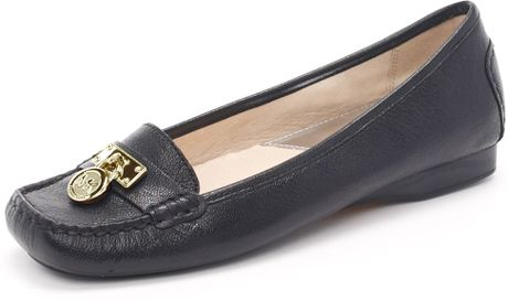 Michael By Michael Kors Hamilton Loafer, Black in Black - Lyst