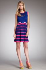 Nanette Lepore Flirt Tiered Dress - Lyst