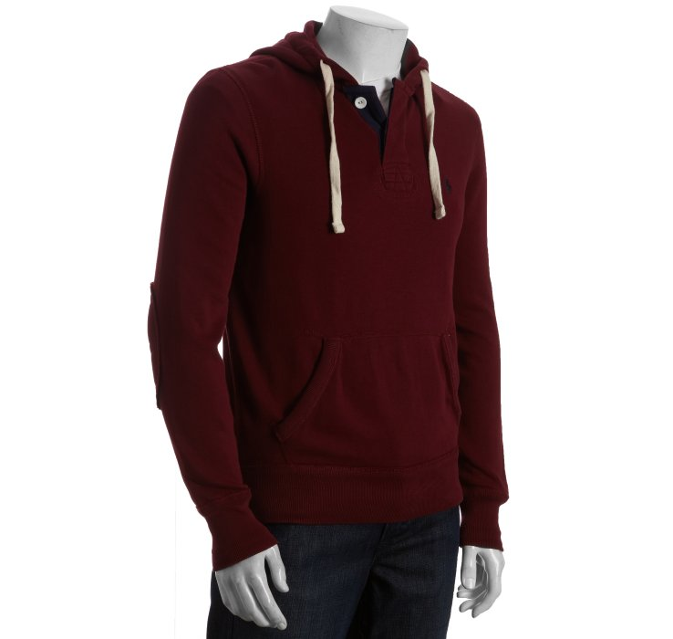 polo ralph lauren classic fleece hoodie in red for men rl 2000 red. Black Bedroom Furniture Sets. Home Design Ideas