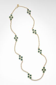 Tory Burch Resin Chain Necklace - Lyst