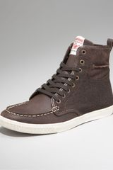 True Religion Lamond Flannel Hi-top Sneaker - Lyst