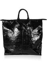 Alexander Wang Prisma Laminated Textured-leather Tote - Lyst