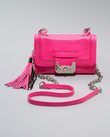 Diane Von Furstenberg Mini Harper Bag, Neon Pink in Multicolor (one sz) - Lyst