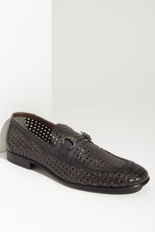 Dolce & Gabbana Perforated Leather Loafer - Lyst