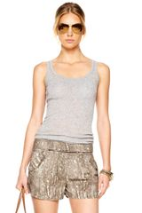 Michael Kors Pleated Shorts - Lyst