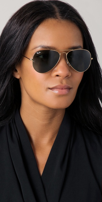 4509e67565 Lyst - Ray-Ban Original Aviator Sunglasses in Metallic