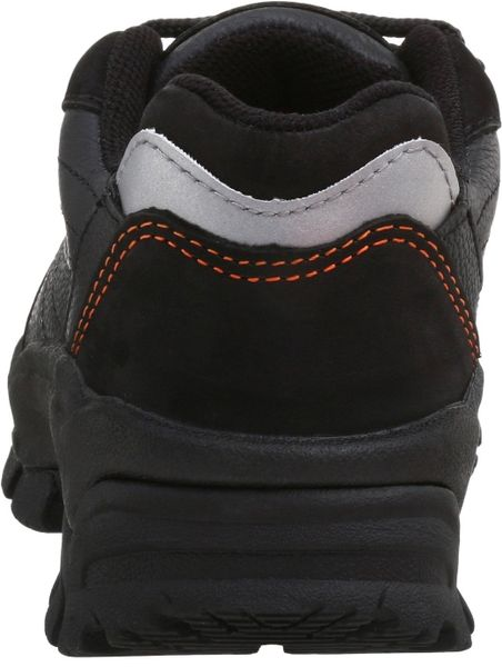 Wing Worx By Red Wing Shoes Womens Black Steel Toe Athletic Low Hiker