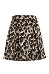 Sea Oversized Leopard Print Skirt - Lyst