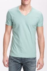 Diesel Tos Extra Trim Fit V-neck Slub T-shirt - Lyst