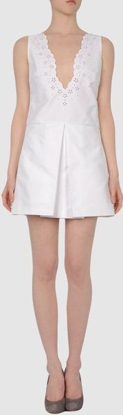 Dsquared2 Dsquared2  Short Dresses in White - Lyst