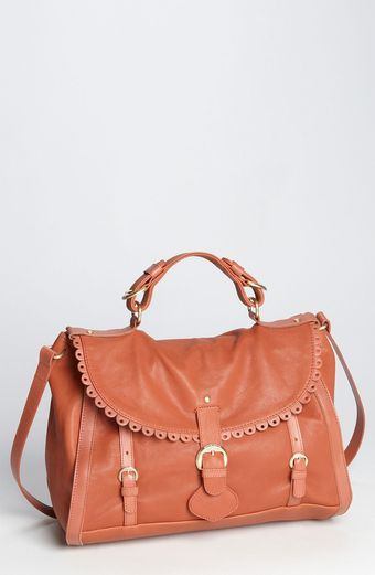 See By Chloé Poya Scalloped Leather Satchel - Lyst