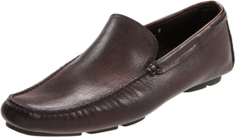 to boot new york mens barkley driving shoe in brown for
