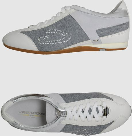 Alberto Guardiani Sport Sneakers in Gray (beige) - Lyst