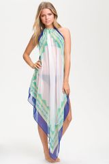 Steve Madden Border Print Cover-up - Lyst